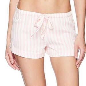 PJ Salvage Pink and White Sleep Shorts